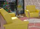 3D Christmas Living Room