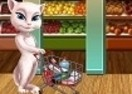 Angela en el Supermercado