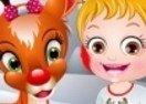 Baby Hazel Reindeer Surprise