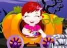 Baby Lulu at Halloween