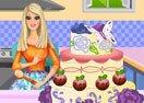 Barbie Cooking Cake
