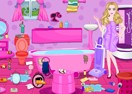 Barbie Messy Bathroom Cleaning