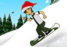 Ben 10 Skyboard Downhill