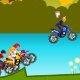 Beyblade vs Yu-Gi-Oh Motocross