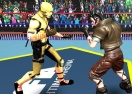 Body Builder Ring Fighting Arena: Wrestling Games