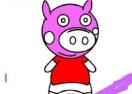 BTS Pig Coloring