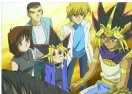 Characters of Yu-Gi-Oh Jigsaw Puzzle