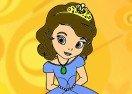 Colorea a la Princesa Sofia