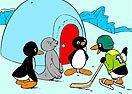 Colorea a Pingu y Amigos