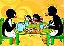 Colorea a Pingu y Familia