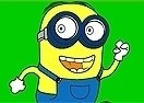 Colorear a Minion Corriendo