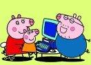 Colorear a Peppa Pig en el Computador
