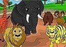Colorear un Zoológico