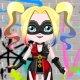Cute Harley Quinn Dress Up