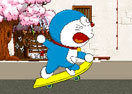 Doraemon Skateboarding