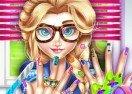 Elsa Hipster Nails