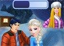 Elsa & Ken Kissing