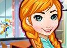 Frozen Anna Classroom Cleanup
