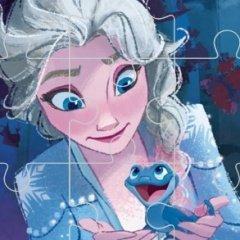 Frozen Comic Jigsaw