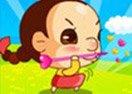 Girl Javelin
