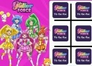 Glitter Force: Tic-Tac-Toe