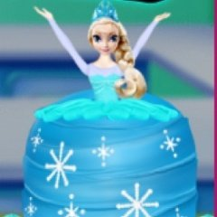 How To Make A Frozen Princess Cake