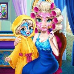 Elsa Mommy Real Makeover