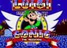 Luigi in Sonic 1