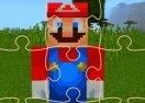 Minecraft Mario Jigsaw