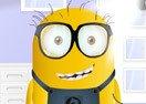 Minion Wearing Glasses