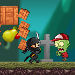 Ninja Kid vs Zombies