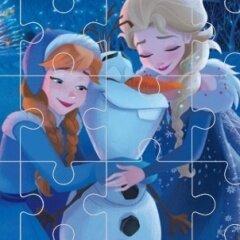 Olaf's Frozen Adventure Jigsaw