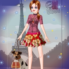 Paris with Love Dress Up