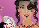 Poker Queen Makeup