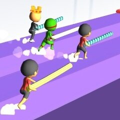 Pole Vault Jump: Stick Race