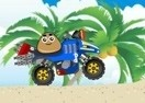 Pou Beach Ride