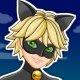 Prodigiosa Ladybug: Viste a Cat Noir