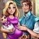 Viste a Rapunzel Embarazada