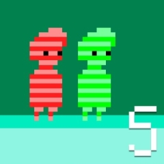 Red And Green 5