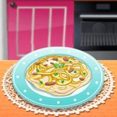 Sara's Cooking Class: Chicken Fettuccine Alfredo
