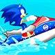Sonic Jetski Race