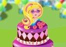 Super Barbie Birthday Cake