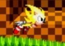 Super Sonic and Hyper Sonic in Sonic 1